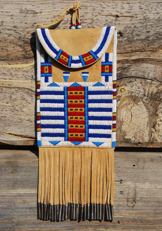 Beadwork Cheyenne Style Dispatch Bag Northvoice Com